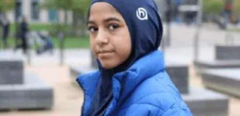 Mãe confecciona hijabs especiais para filha praticar esporte