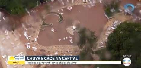 Temporal causa estragos na sede social do São Paulo
