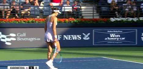 TÊNIS: WTA Dubai: Muguruza derrota Kudermetova (7-5, 4-6, 6-4)
