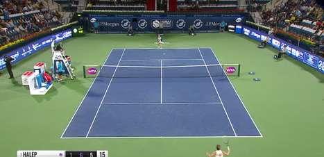 TÊNIS: WTA Dubai: Halep vence Jabeur (1-6, 6-2 e 7-6)