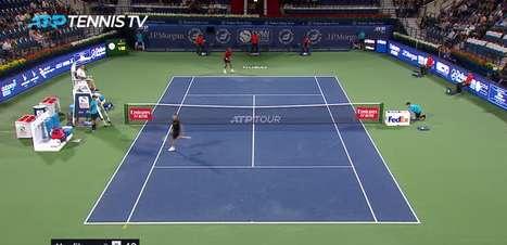 TÊNIS: ATP Dubai: Monfils bate Fucsovics (6-4, 7-5)