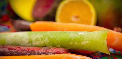 Receitas de geladinhos funcionais para refrescar no Carnaval
