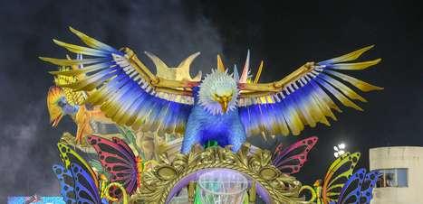 Águia de Ouro vira no final e conquista o Carnaval de SP