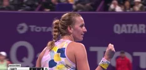 TÊNIS: WTA Doha: Kvitova vence Barty (6-4, 2-6, 6-4)
