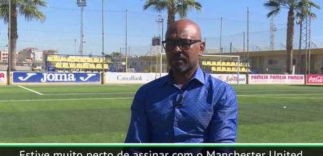 """EXCLUSIVO:Marcos Senna: """"Estive muito perto de assinar com o Manchester United"""""""