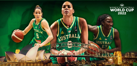 Austrália sediará a Copa do Mundo de Basquete Feminino de 2022