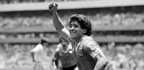 Estatística também mostra Maradona monstruoso em Argentina x Inglaterra de 1986