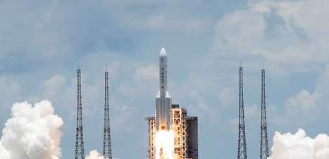 China lança sua 1ª sonda espacial para Marte