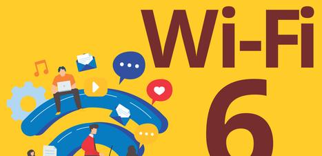 Capacidade, desempenho e eficiência: conheça o Wi-Fi 6