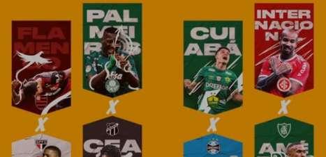 São Paulo pega Flamengo nas quartas; veja os confrontos