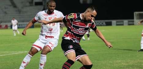 Santa Cruz vence o Vila Nova e se isola na liderança do Grupo A da Série C