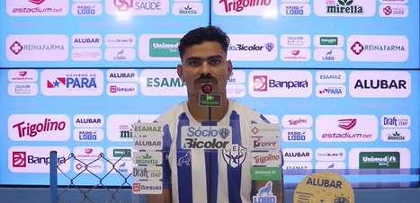 """PAYSANDU: Tony nega torcida para o Remo contra o Londrina para ajudar na tabela e reconhece: """"Não adianta a gente torcer pra eles se não fizermos a nossa parte"""""""