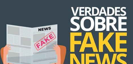 Fake News cercada de informação real no consumo e compartilhamento