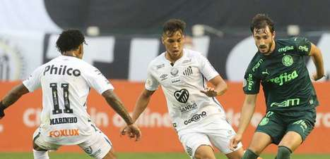 Palmeiras x Santos: onde assistir, arbitragem e escalações para a final