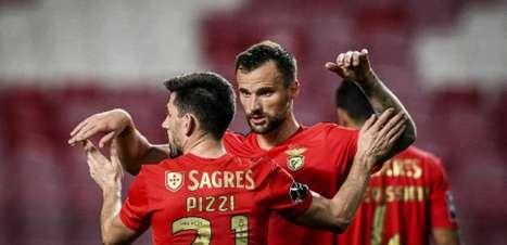 Lucas Veríssimo marca, e Benfica de Jorge Jesus vence o Belenenses pelo Português