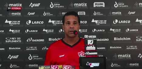 VITÓRIA: Rodrigo Chagas 'despista' sobre qual equipe vai colocar no Ba-Vi, mas promete time com intensidade alta na partida