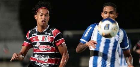 Copa do Nordeste: CSA vence Santa Cruz fora de casa e segue na briga pelo mata-mata