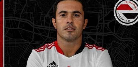 São Paulo oficializa contratação de ex-atacante da Itália