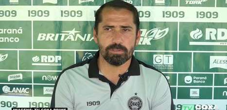 """CORITIBA: Gustavo Morínigo vê com bons olhos nova regra de demissões de treinadores, estipulada pela CBF: """"Os clubes vão pensar duas vezes antes de demitir alguém"""""""