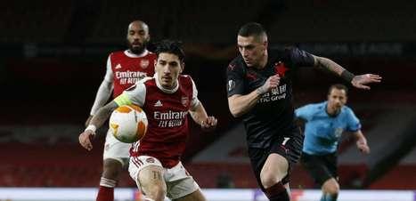 Arsenal empata com o Slavia Praga por 1 a 1 na Europa League