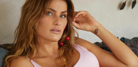 Isabeli Fontana veste maiô de R$ 359 de coleção de Preta Gil