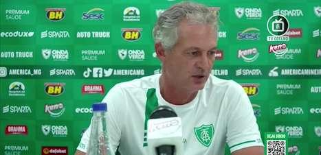 """AMÉRICA-MG: Lisca analisa empate, cita ineficácia do time diante do Patrocinense: """"não era o que a gente esperava"""""""
