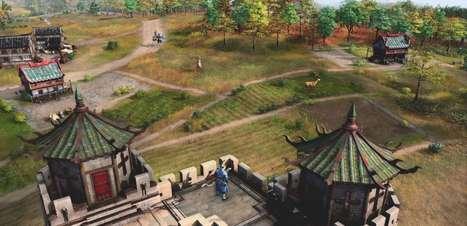 Age of Empires IV quer nos ensinar um pouco de história