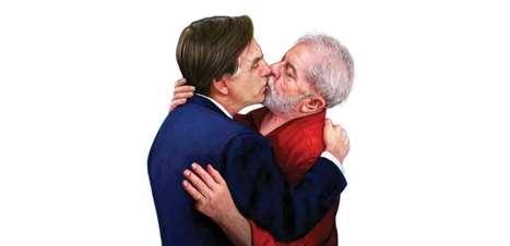 Lula é maravilhoso. Bolsonaro é maravilhoso. O lixo sou eu