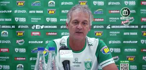 """AMÉRICA-MG: Lisca sobre retorno do Ademir: """"Está definitivamente reintegrado ao nosso grupo e pronto para jogar todas as partidas"""""""