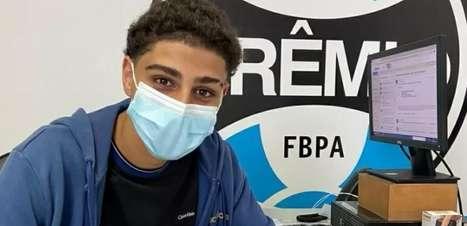 Filho de Adriano Imperador é contratado para base do Grêmio
