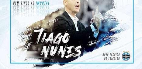 Ainda sem Tiago Nunes, Grêmio estreia na Sul-Americana