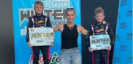 Andretti faz anúncio especial e põe filhos de Wheldon em programa de desenvolvimento