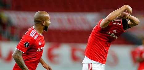 Internacional goleia o Táchira e se recupera na Libertadores
