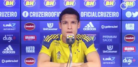 """CRUZEIRO: Matheus Barbosa comenta sua adaptação ao estilo de jogo de Felipe Conceição e revela: """"Ele me dá muito conselho no que eu posso melhorar"""""""