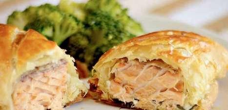 Surpreenda na cozinha com a receita de salmão na massa folhada