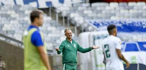 'Se ninguém te tira do gol do Cruzeiro, eu tiro', diz Lisca para Fábio