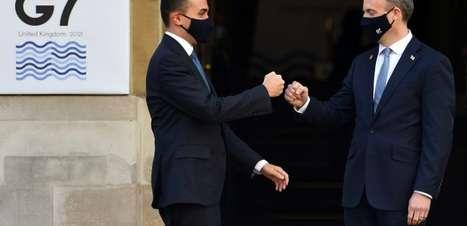 G7 finaliza debates com críticas a China, Rússia e Irã