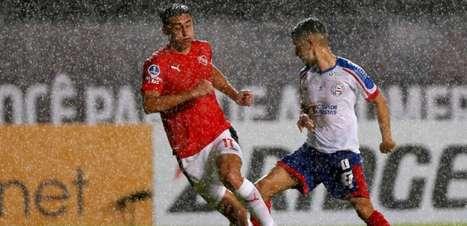 Sul-Americana: Após Independiente abrir 2 a 0, Bahia corre atrás e empata duelo; Gilberto perde pênalti