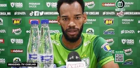 """AMÉRICA-MG: Anderson reconhece baixo rendimento da equipe no primeiro jogo contra o Cruzeiro e promete 'ir com tudo' para o confronto de volta: """"Não vamos sentar na vantagem"""""""