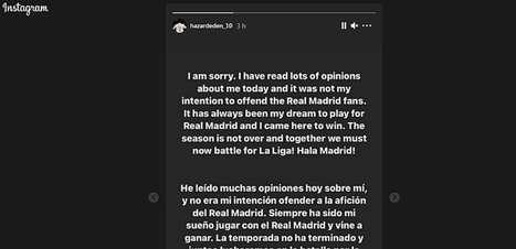 Hazard se desculpa por rir com atletas do Chelsea após eliminação do Real Madrid