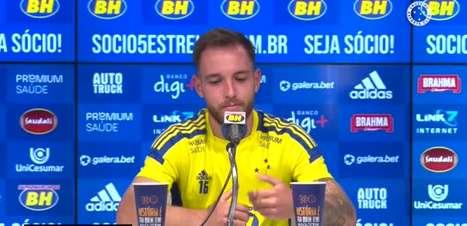 """CRUZEIRO: Bruno José vê sequência como oportunidade para entrosar equipe: """"Bom pra todo mundo se conhecer e pegar intimidade dentro de campo"""""""