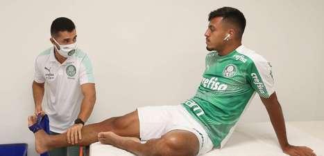 Gabriel Menino é afastado e recebe cuidados especiais do Palmeiras