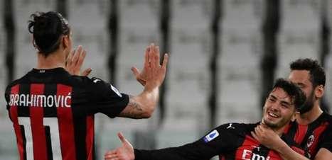 Pelo Italiano, Milan vence a Juventus e avança na briga por vaga na Champions League