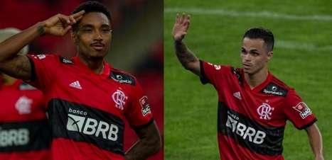 Em ascensão e elogiados, Vitinho e Michael já contribuíram com 46% dos gols do Flamengo no Carioca