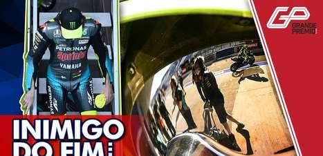 GP às 10: Aos 42 anos, chegou a hora de Rossi dizer adeus à MotoGP?