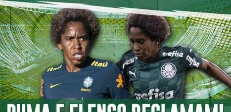 Vídeo: Chú Santos gera desconforto com elenco, direção e até com a Puma