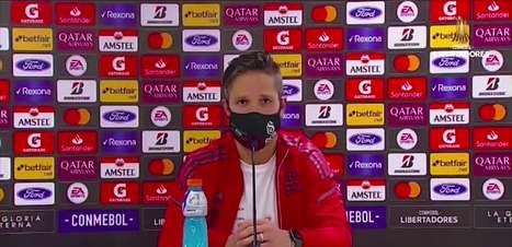 """FLAMENGO: Diego reitera sobre lições que empate contra o La Calera deixam na equipe: """"precisamos estar cada vez mais focados e concentrados"""""""