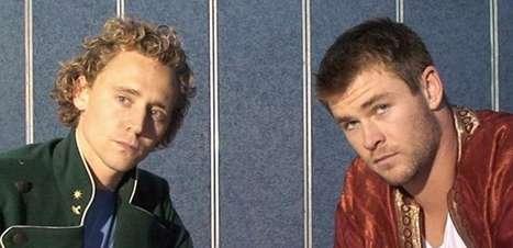 Chris Hemsworth comemora 10 anos de 'Thor' com foto