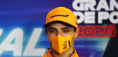 """""""Não tenho simpatia"""", diz Norris sobre as dificuldades de Ricciardo na McLaren F1"""