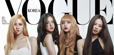 BLACKPINK mostra beleza em capas da revista Vogue Korea